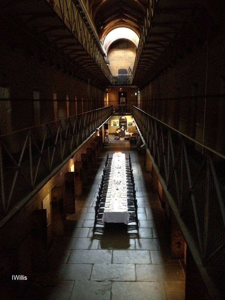 UHPH Conf 2018 Melbourne Gaol Dinner
