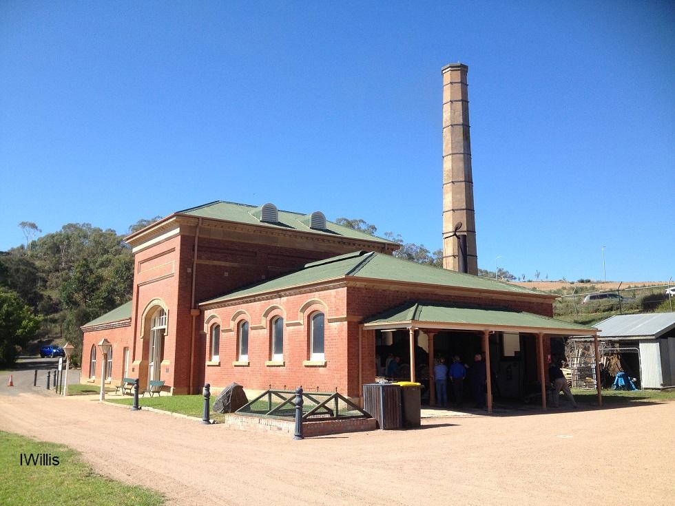 Goulburn Waterworks pumphouse 2018