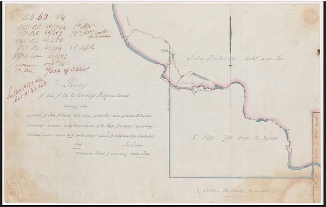 Map Mummel WollondillyRiver 1841 SARNSW