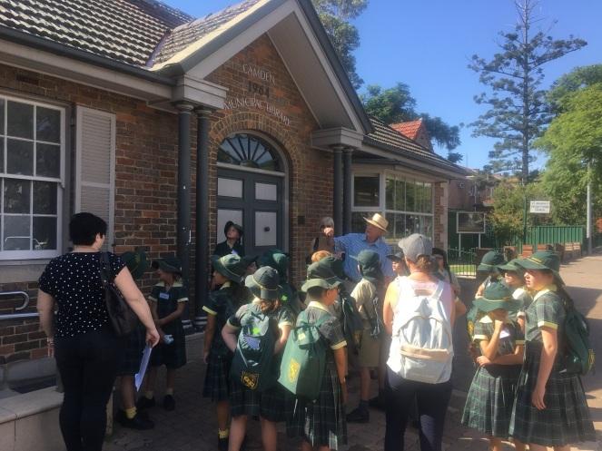 Camden Museum Macarthur Anglican School Visit2 2018Apr