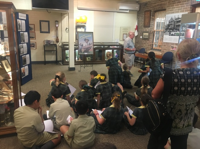 Camden Museum Macarthur Anglican School Visit6 2018Apr