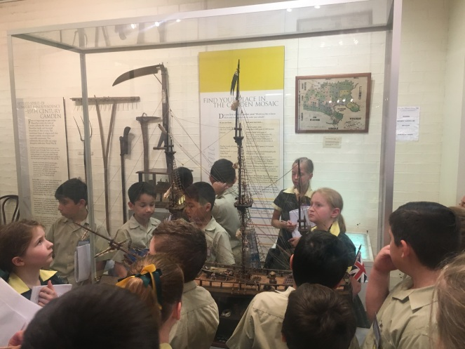 Camden Museum Macarthur Anglican School Visit7 Sirius 2018Apr