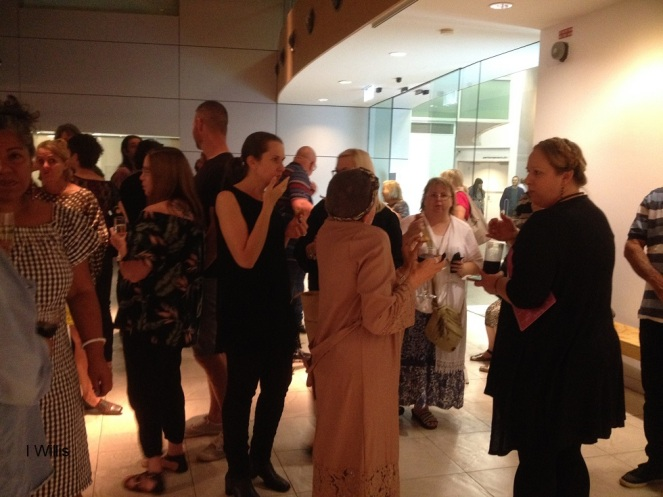 Campbelltown Art Centre Launch SheerFantasy 2018Apr Crowd