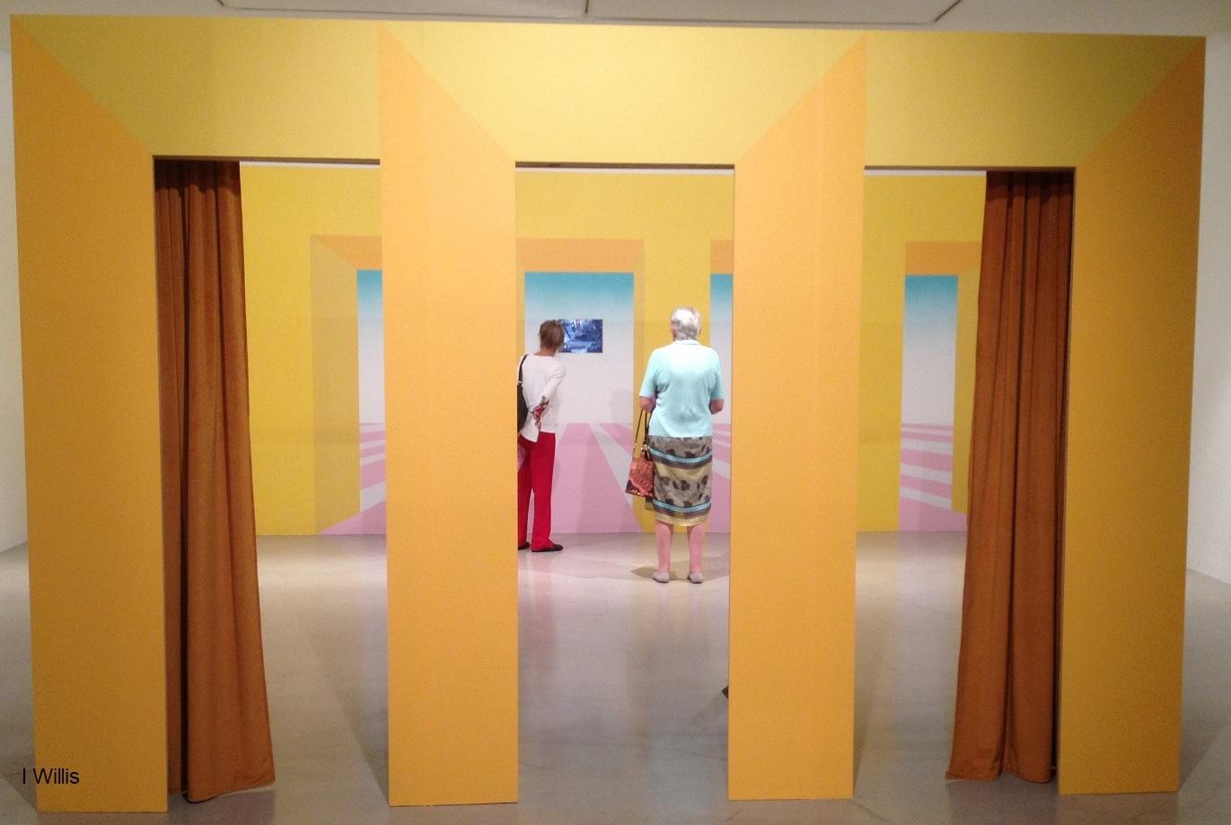 Campbelltown Art Centre Launch SheerFantasy 2018Apr Door&Curtain
