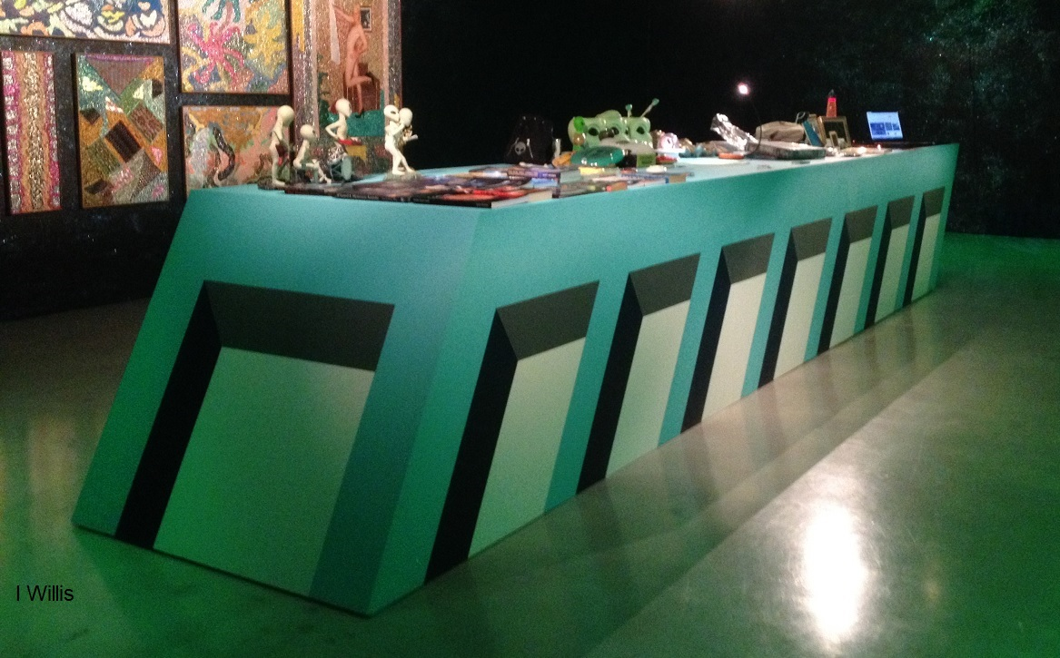 Campbelltown Art Centre Launch SheerFantasy 2018Apr UFO