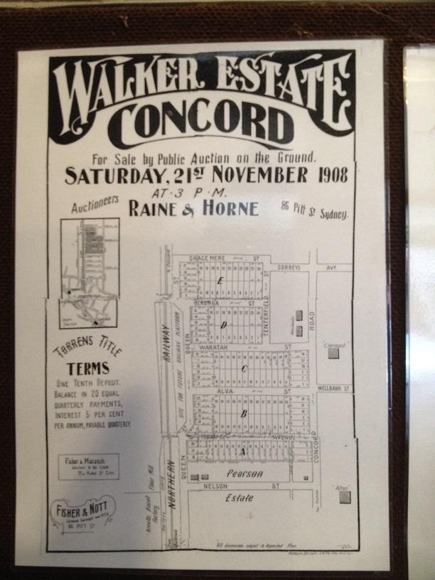 Concord Yarralla Estate Subdivision 1908 (2018) CCBHS
