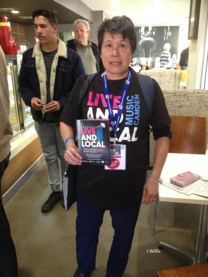 Camden Live & Local 2018 Organiser Cheryl CC