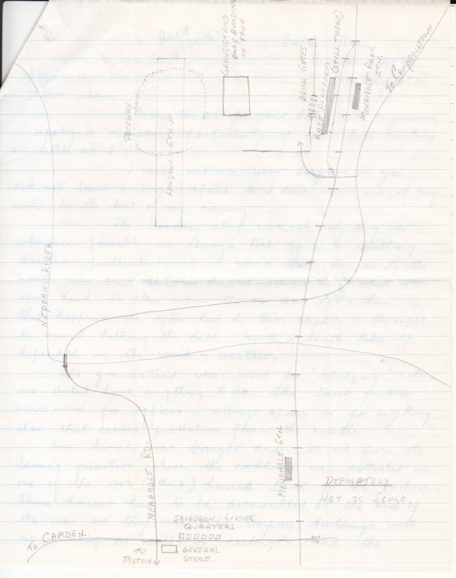 Menangle Airfield Sketch Map Alan Hicks 1987_0001