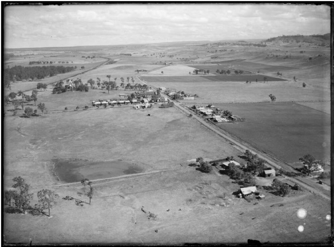 Menangle1935 Aerial view 1935 NLA
