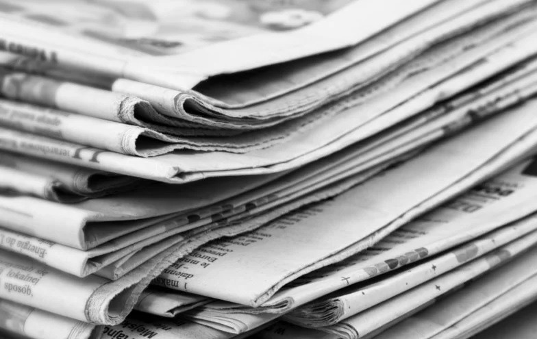 Newspapers Image Pile