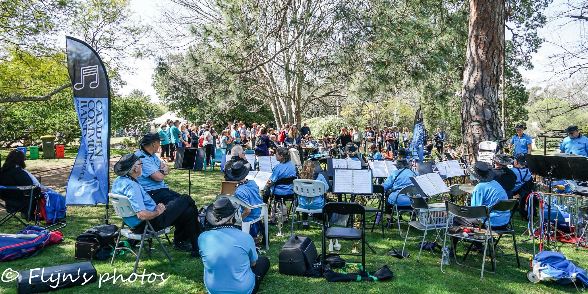 Camden Park House Camden Community Band Flyn LForbes 2018