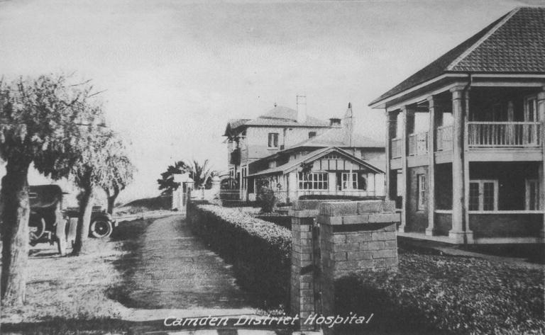 Camden Hospital & Nurse Qtrs after 1928 CIPP