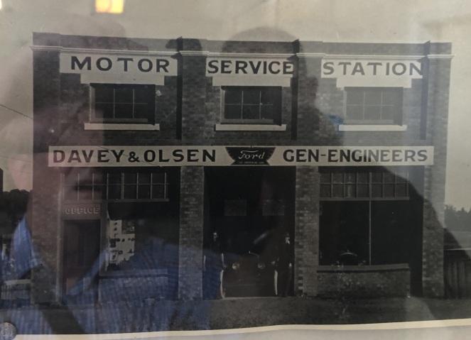 Dungog Davey&Olsen Garage 1920s 2018