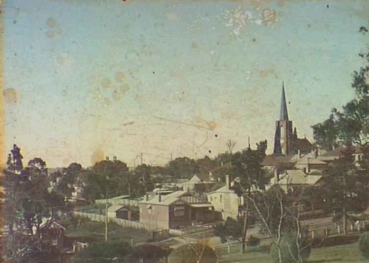 camden st johns vista from mac pk 1910 postcard camden images