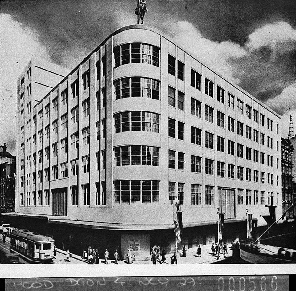 sydney david jones market street 1938 sam hood dos slnsw