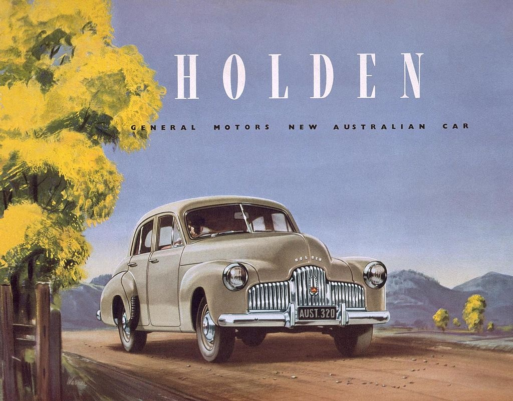 Holden FX 1948 Cover Sales brochure Wikimedia