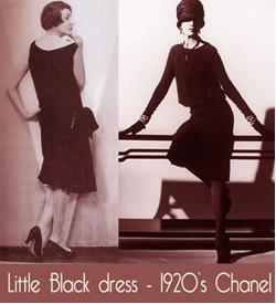 Costume Little Black Dress 1920