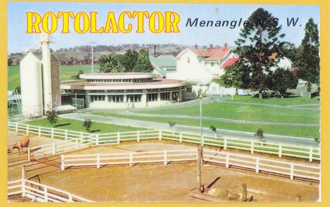 Menangle Rotolactor Post Card 1950s
