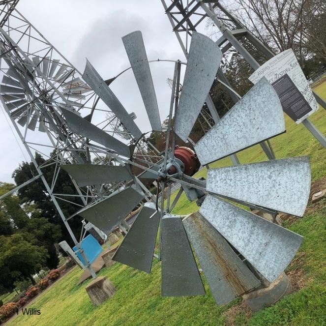 Toowoomba Cobb&Co Museum Windmills 2019