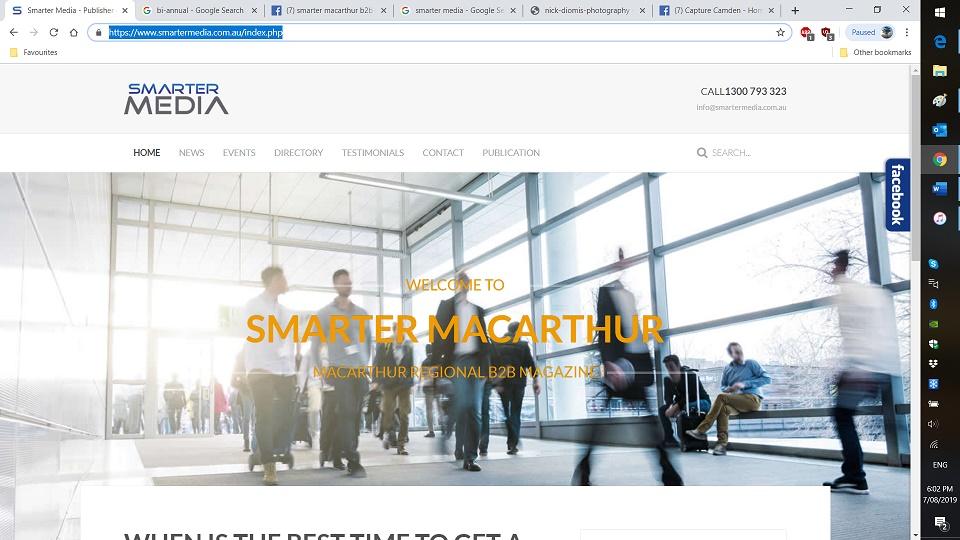 Smarter Macarthur Magazine Screenshot 2019-08-07