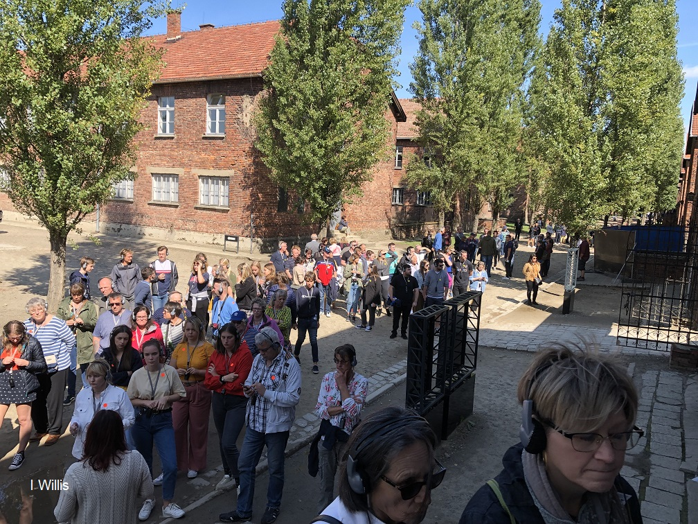 Poland Auschwitz Camp 2019 Crowds