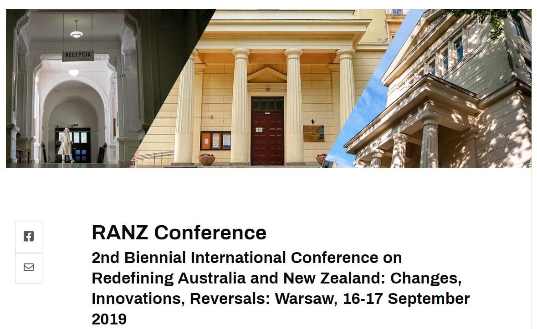 Poland RANZ Conference Header