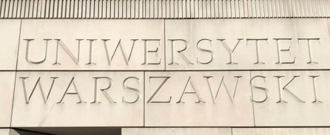 Poland University of Warsaw Signage2 2019 lowres