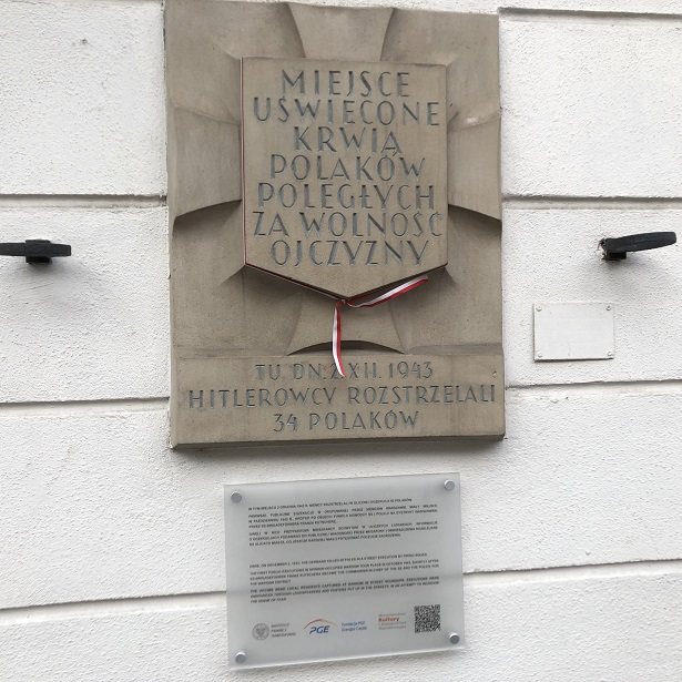 Poland Warsaw memorial 50 Executions 1943 lowres
