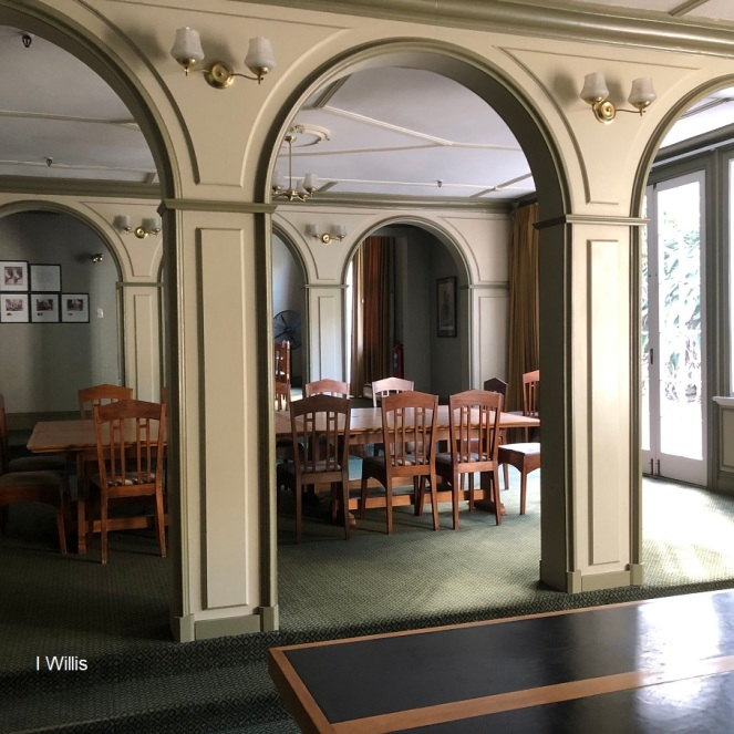 Auckland Old Government House Dining Room 2019