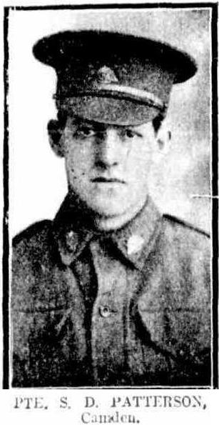 Camden Pte Stanley Dudley PATTERSON SydMail1916Sept13