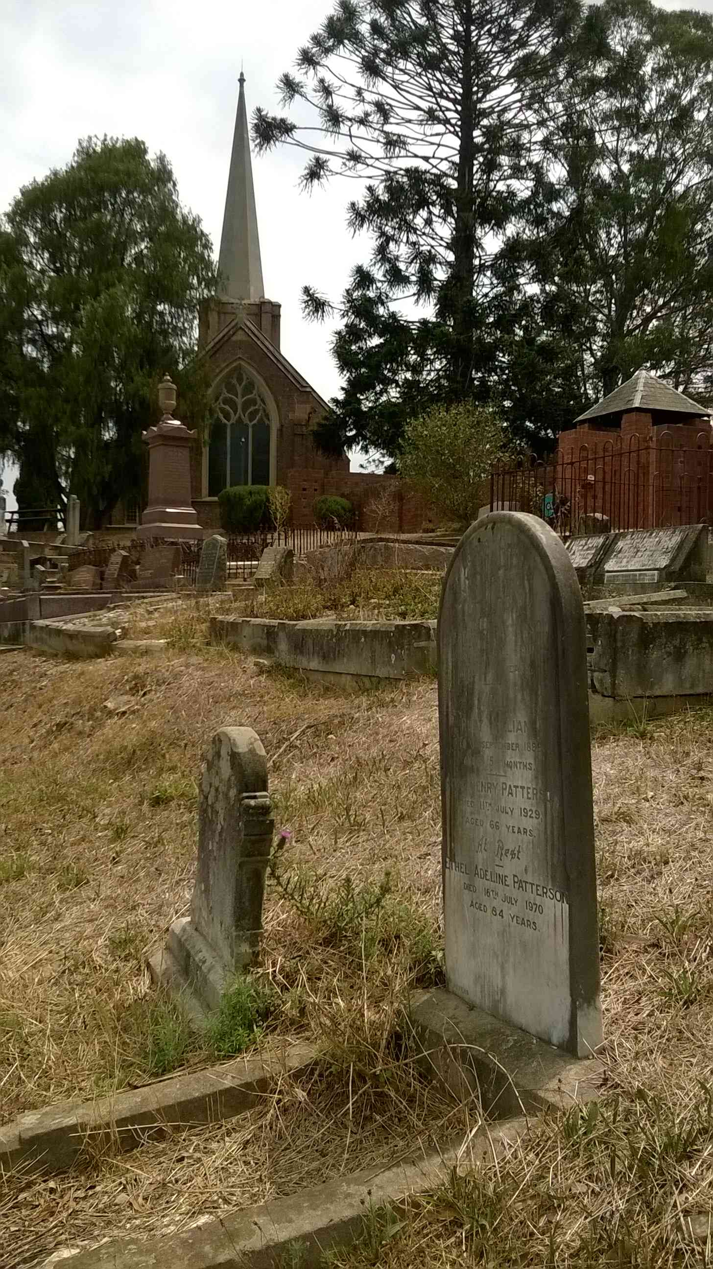 Camden St John Cemetery Catherine Patterson Grave 2020 JOBrien lowres