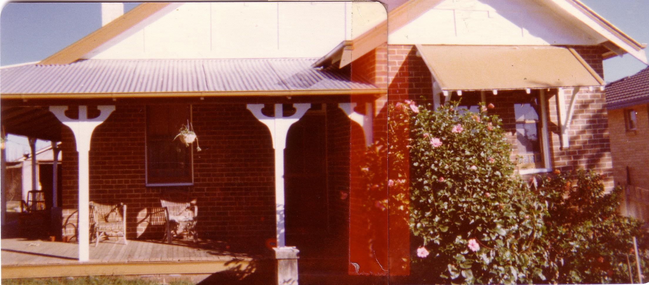 Elderslie 34 River Road (X) front of house 1970 MPatterson