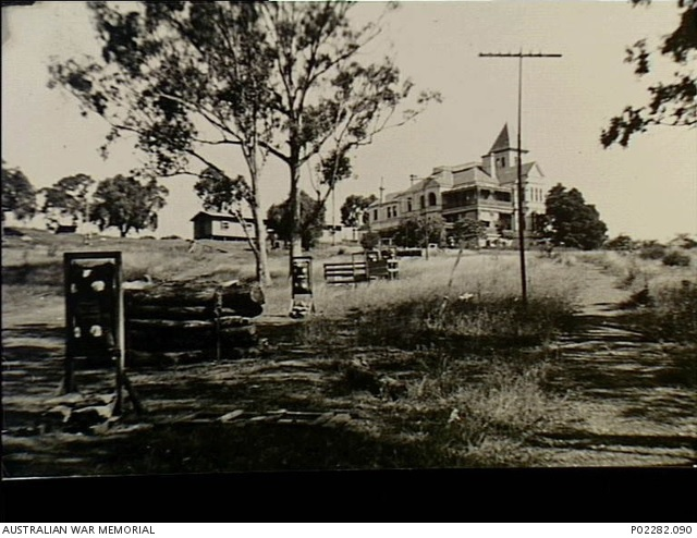 Narellan Eastern Command Training School Obstacle course Studley Park Narellan 1941 LK Stevenson AWM