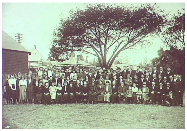 Camden Trainee Teachers Camp Showground 1924 JDonaldson CIPP