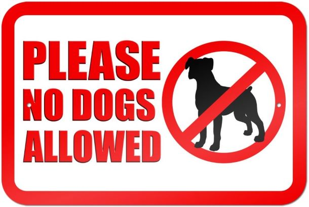 Camden Town Farm Walkway Signage No Dogs2 2020 lowres