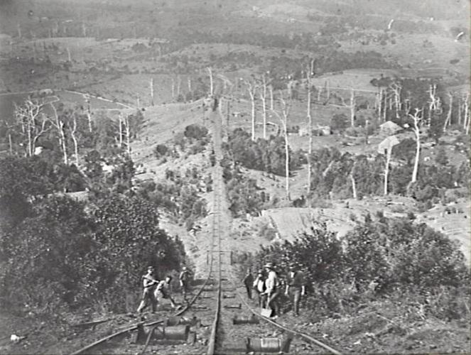 Wollongong Mount Kiera Mine Incline 1880 (WCL & IHS)