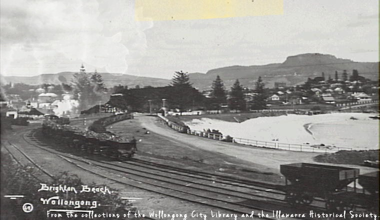 Wollongong Mount Pleasant Colliery Railway Belmore Basin 1900s WCL&IHS