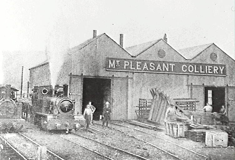 Wollongong Mount Pleasant Colliery Railway Workshop 1904 IHT