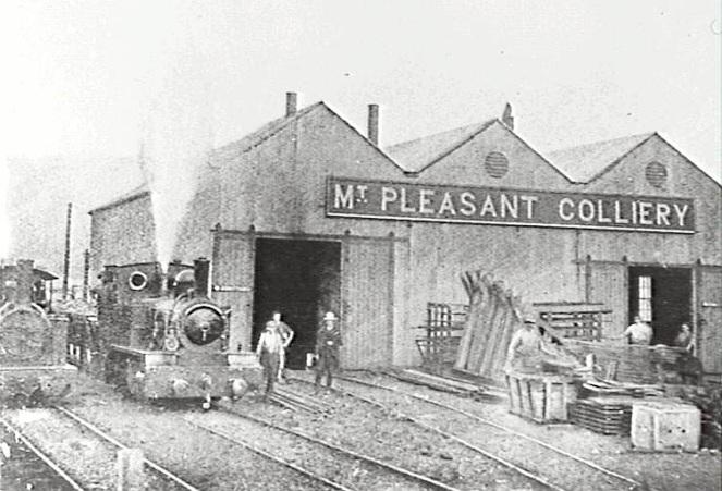 Wollongong Mount Pleasant Colliery Railway Workshop 1904 IHT