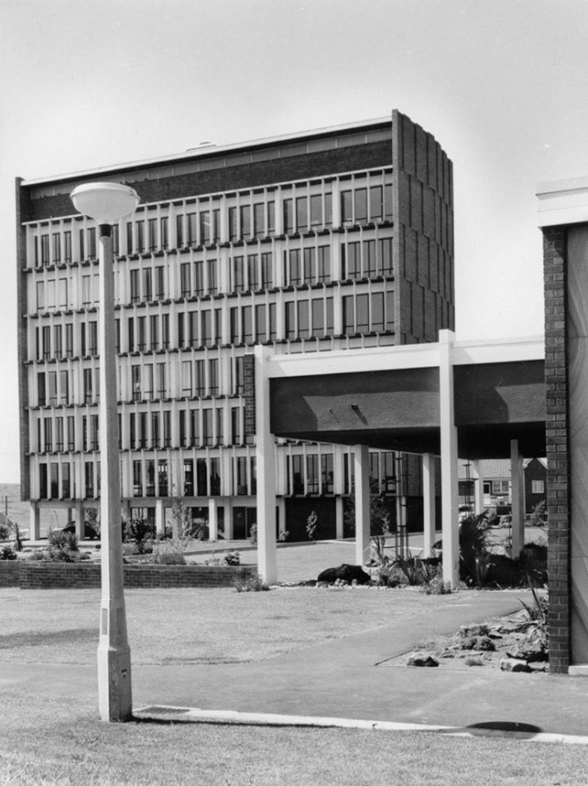 Campbelltown Council Chambers 1960s Geoff Eves