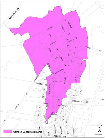 Map Camden Town Centre HCA LEP 2010 CRAG