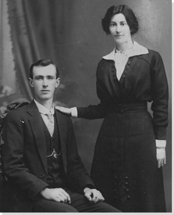 Portrait Roy Dowle 1920s Camden TOHS